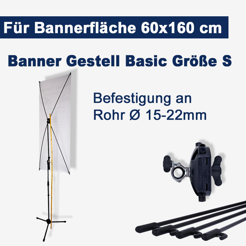 Banner Gestell Basic Göße S